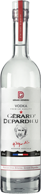 Gerard Depardieu Vodka